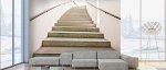 Wall Murals Staircase